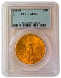 1911-D MS 66