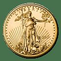 1/4 oz. Gold American Eagle Coin