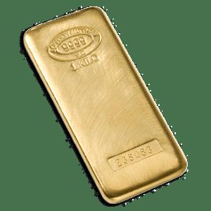 A 1 Kilo Johnson Matthey Gold Bar