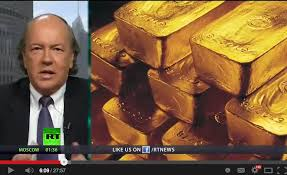 Jim Rickards Discusses Gold In A Television Interview