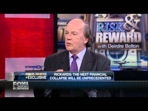 """Jim Rickards Gives An Interview To """"Risk And Reward"""""""