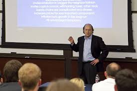 Jim Rickards Speaks To A Group Of Economic Professionals