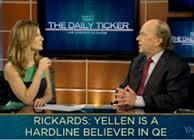 Jim Rickards Discusses The Future Of Quantitative Easing