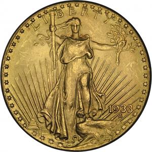 $20 Saint Gaudens