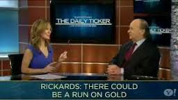 Jim Rickards , Who Has Written Several Books On Currencies, Discusses Gold Demand