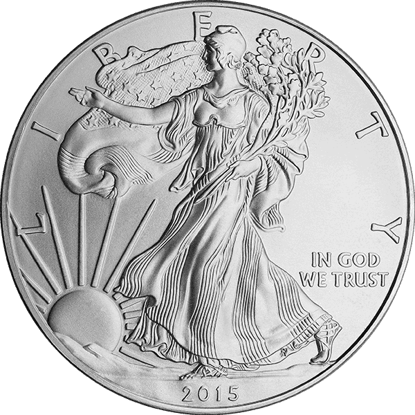 The Silver American Eagle Has Very Fine Details. A Test For Counterfeit Silver Coins Of This Type Is To Examine The Coin Under Magnification For Poor Detail, Incorrect Detail, Or Missing Detail.