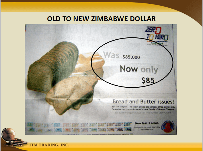What Is Hyperinflation Like