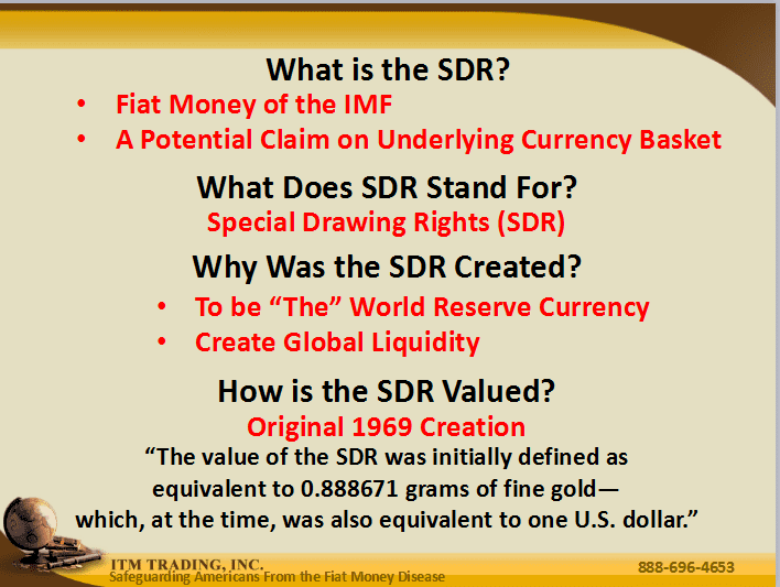 New SDR Currency
