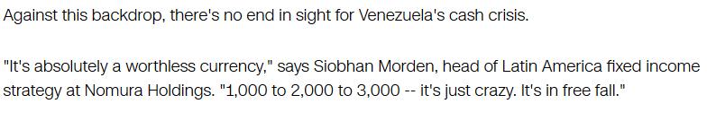 Venezuelan Crisis Update