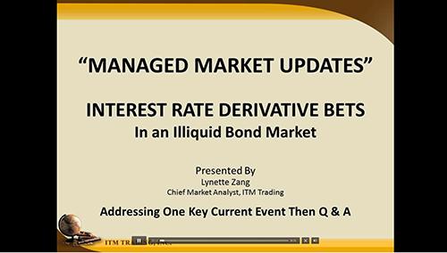Interest Rate Derivative Bets In an Illiquid Bond Market - Run time: 21:53