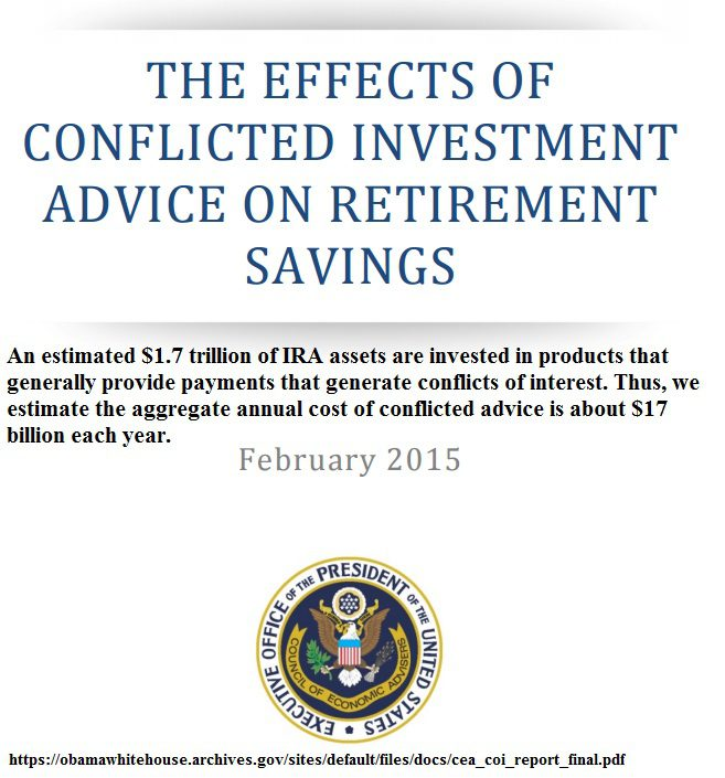 2-3-17 Fiduciary Rule Report the Effects of Conflicted Investment Advice