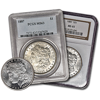 Picture for category Morgan Silver Dollar Coins