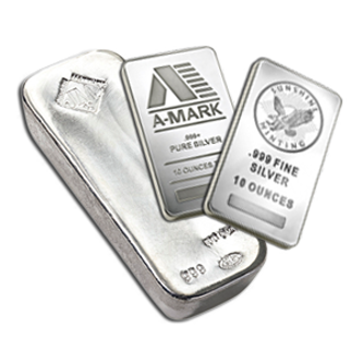 Picture for category Silver Bars