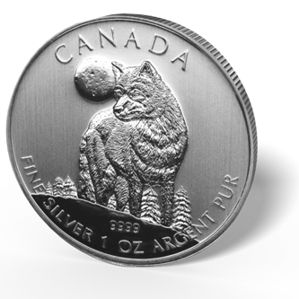 Picture for category Canadian Wildlife Silver Coins