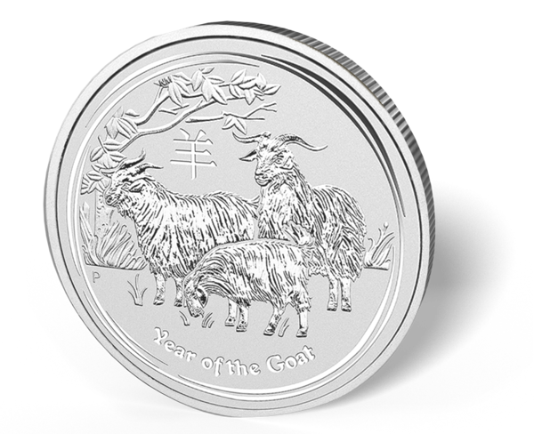 Picture of 2015 1/2 oz Australian Silver Goat