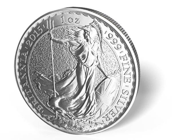 Picture of 2015 1 oz Silver Britannia