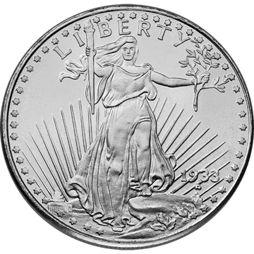 Picture of 1 oz 1933 Saint-Gauden Silver Round