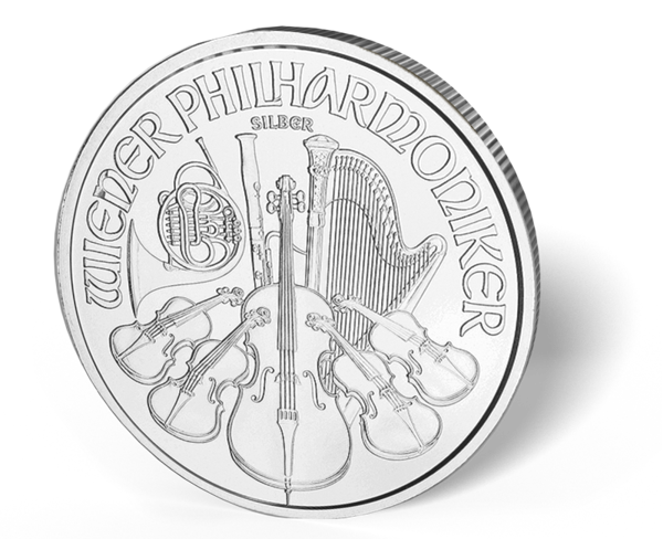 Picture of 1 oz Austrian Silver Philharmonic Coins - 2016