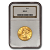 Picture of 1886S $10 Liberty Gold Coin MS63