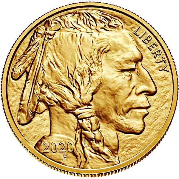 Picture of 2020 1 oz American Gold Buffalo