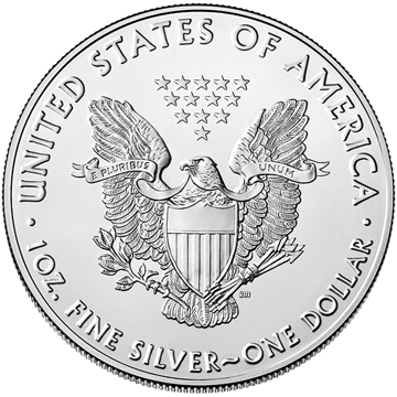 Picture of 2020 1 oz American Silver Eagle Coin