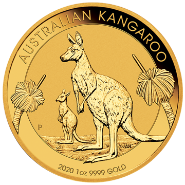 Picture of 2020 1 oz Australian Gold Kangaroo Coin