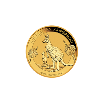 Picture of 2020 1/10 oz Australian Gold Kangaroo Coin