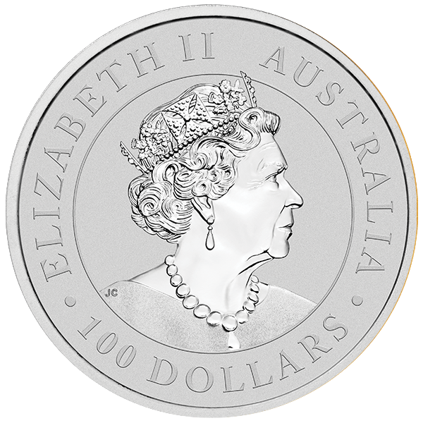 Picture of 2020 1 oz Australian Platinum Kangaroo
