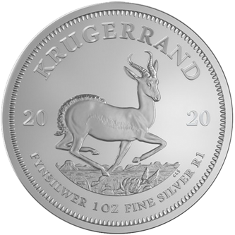 Picture for category South African Silver Krugerrands Coins