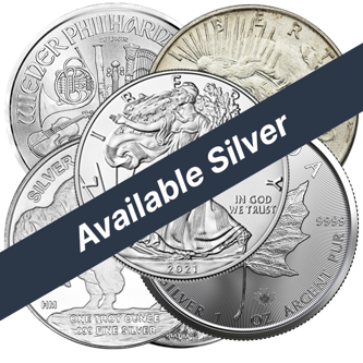 Picture for category Available Silver Bullion